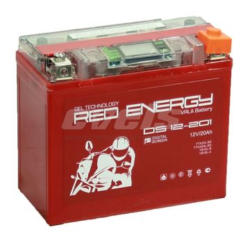 Red Energy DS12-201 (YTX20L-BS 18А/ч)